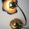 Art Deco Brass Desk Lamp with Vianne Shade 4