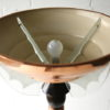 Art Deco Copper Glass Floor Lamp by Petitot France 2