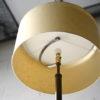 Art Deco Walnut Brass Floor Lamp 6