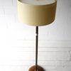 Art Deco Walnut Brass Floor Lamp 7