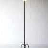 French 1950s Floor Lamp with Glass Shade