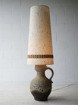 Large West German Floor Lamp 4