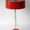 Vintage 1970s Red Table Lamp 1