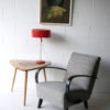 Vintage 1970s Red Table Lamp 2