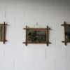Vintage Bamboo Mirrors