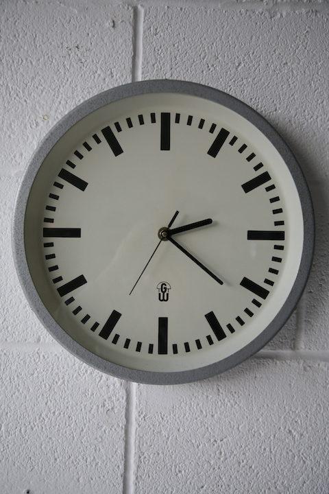 Vintage GW Wall Clock 1