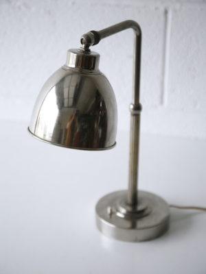 1930 Deco Chrome Desk Lamp 5