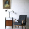 1950s Double Desk Lamp by Jumo