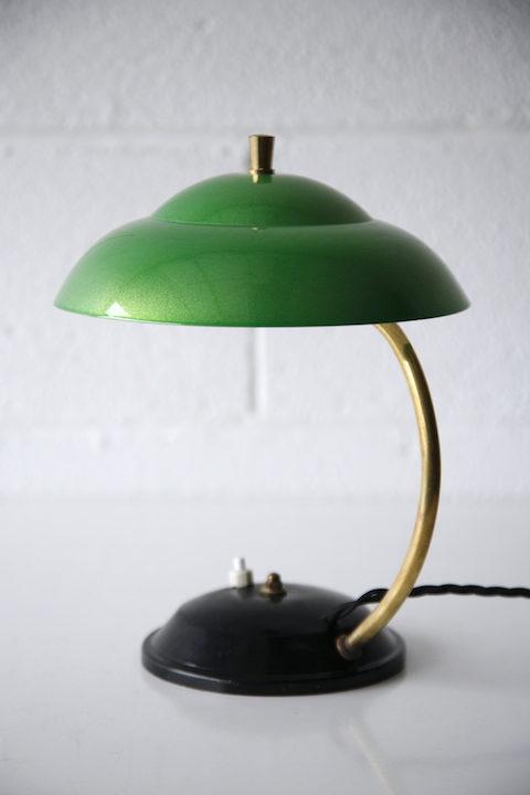 1950s Green Desk Lamp 2