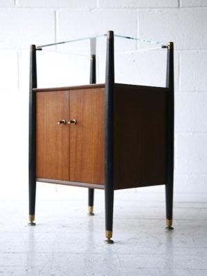 1950s Nathan Bedside Cabinet 4