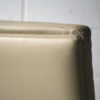 Cream Leather 1970s Chairs 5