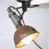 Vintage Industrial Clip on Lamp