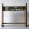 Vintage Mirrored Console Table