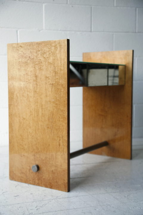 Vintage Mirrored Console Table 5