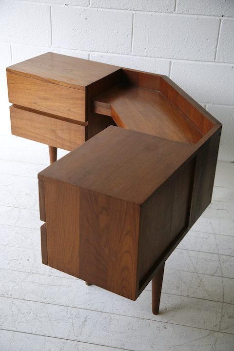 Vintage Teak Corner Unit 3