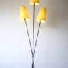 1950s Floor Lamp with Yellow Shades 3
