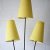 1950s Floor Lamp with Yellow Shades 5