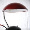 1950s Red Czech Desk Lamp 1