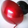 1950s Red Czech Desk Lamp