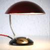 1950s Red Czech Desk Lamp 3