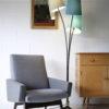 1950s Triple Floor Lamp 5