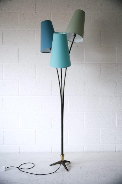 1950s Triple Floor Lamp 6