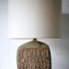 1960s Ceramic Lamp Base and Shade 1