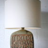 1960s Ceramic Lamp Base and Shade 2