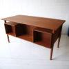 1960s Danish Teak Desk 1