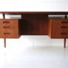 1960s Danish Teak Desk 4