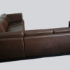 1970s Danish Leather Corner Sofa by Thams 2