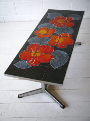 1970s Tiled Coffee Table