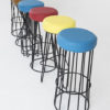 Modern Wire Bar Stools