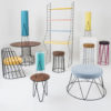 Modern Wire Bar Stools 3