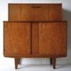 Vintage 1960s Teak Cocktail Cabinet 2