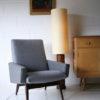 Vintage Wallpaper Roller Floor Lamp