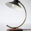 1950s Desk Lamp with Leather Base 4