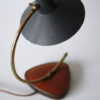 1950s Desk Lamp with Leather Base 6