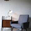 1950s Grey Desk Lamp
