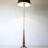 1960s Teak Tripod Floor Lamp