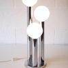 1970s Chrome Glass Table Lamp 2