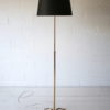 French 1950s Brass Floor Lamp 1