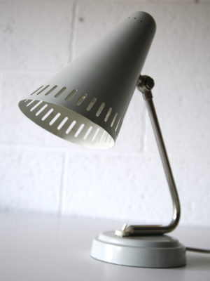 Grey 1950s Desk Lamp