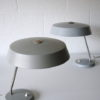 Pair 1950s Grey Desk Lamps 2