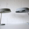 Pair 1950s Grey Desk Lamps 3