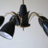1950s Black Ceiling Light 1