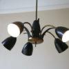 1950s Black Ceiling Light 2