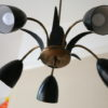 1950s Black Ceiling Light 5