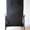 1950s Black Reclining Chair 6