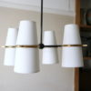 1950s Ceiling Light by Lunel